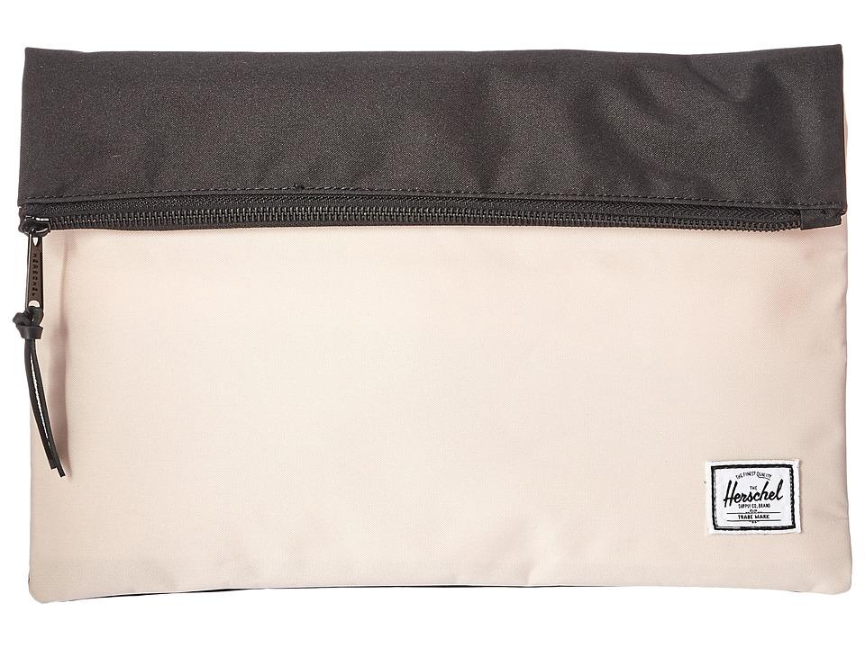 Herschel Supply Co. - Carter Large (Cr me De Peche/Black) Handbags