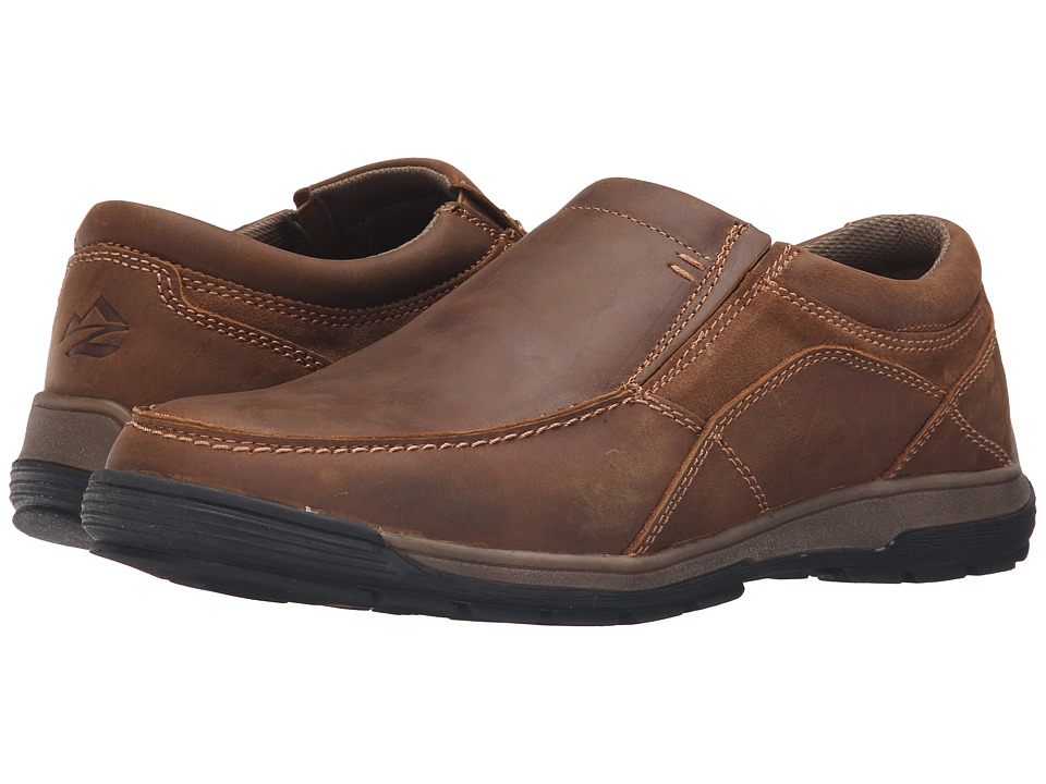 Nunn Bush Lasalle Twin Gore Moc Toe Slip-On All Terrain Comfort (Toffee) Men