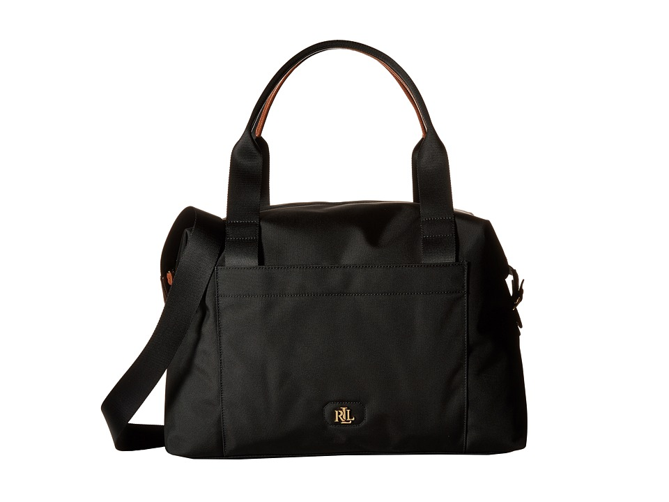 LAUREN Ralph Lauren - Baindrige Large Max Duffel (Black) Duffel Bags
