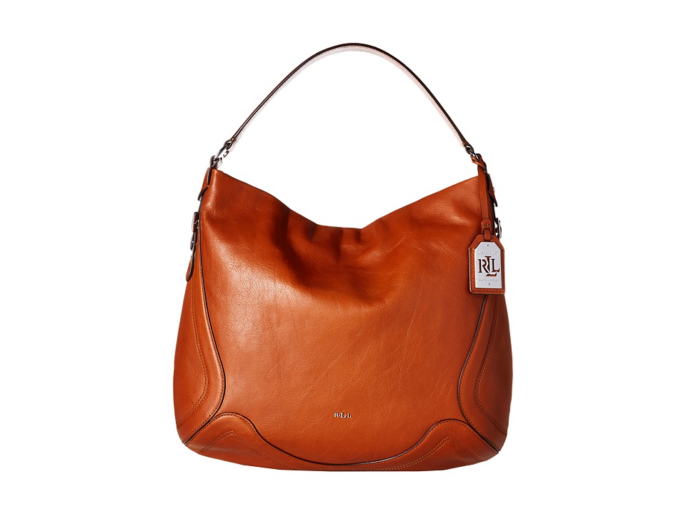 LAUREN Ralph Lauren - Birchfield Hally Hobo (Lauren Tan) Hobo Handbags