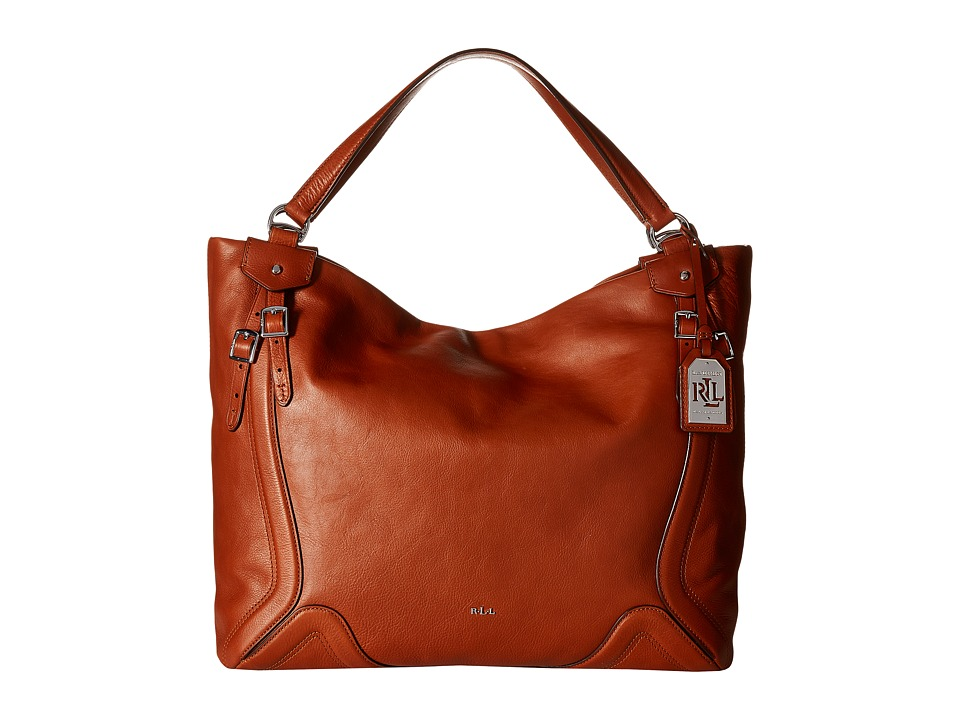 LAUREN Ralph Lauren - Birchfield Jaden Tote Large (Lauren Tan) Tote Handbags