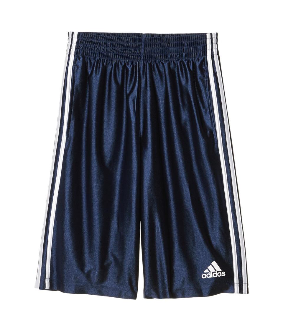 adidas - Basic Shorts 4 (Collegiate Navy/White) Men's Shorts