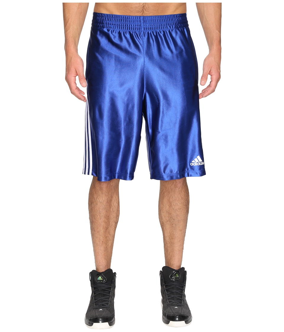 adidas - Basic Shorts 4 (Collegiate Royal/White) Men's Shorts