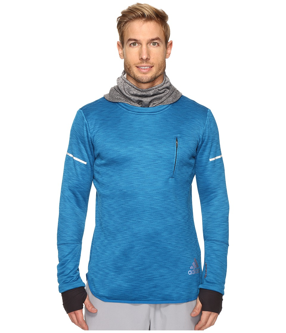adidas - Sequencials CLIMAHEAT Hoodie (Unity Blue/Utility Black) Men's Sweatshirt