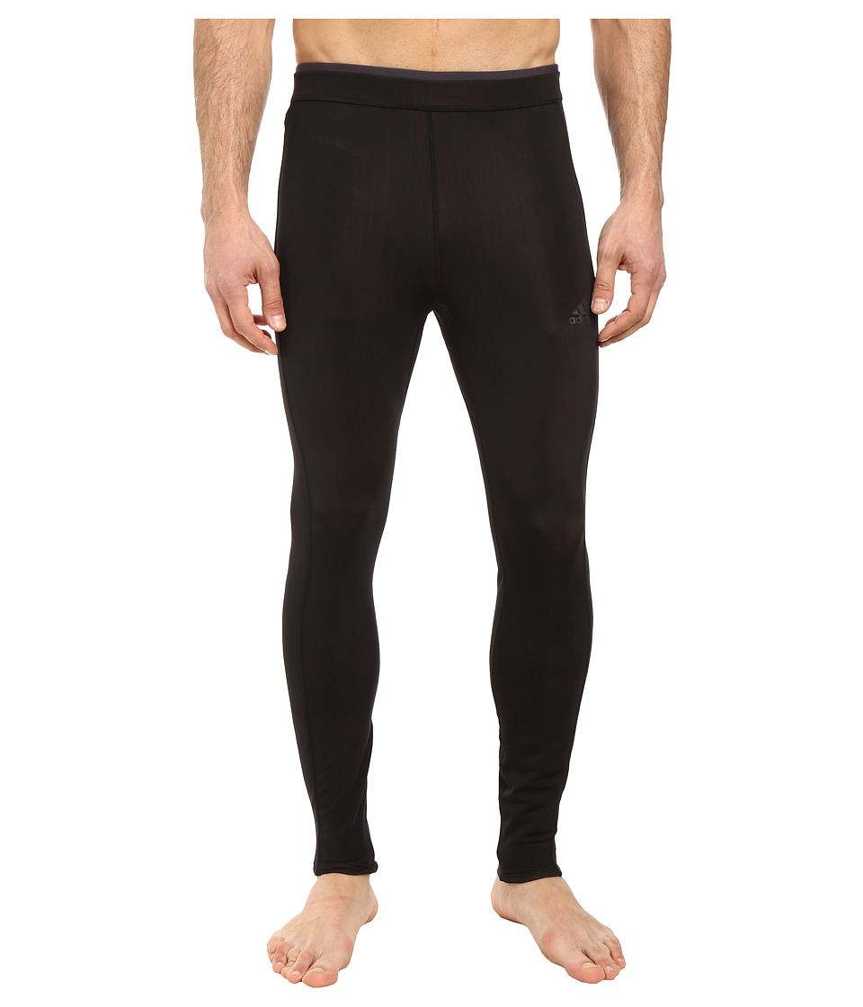 adidas - Sequencials CLIMAHEAT Long Tights (Black) Men's Workout