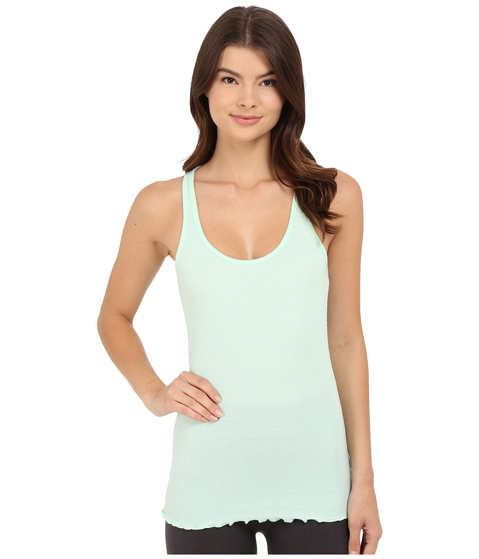 Betsey Johnson - Rib Knit Tank Top (Beach Glass) Women's Sleeveless