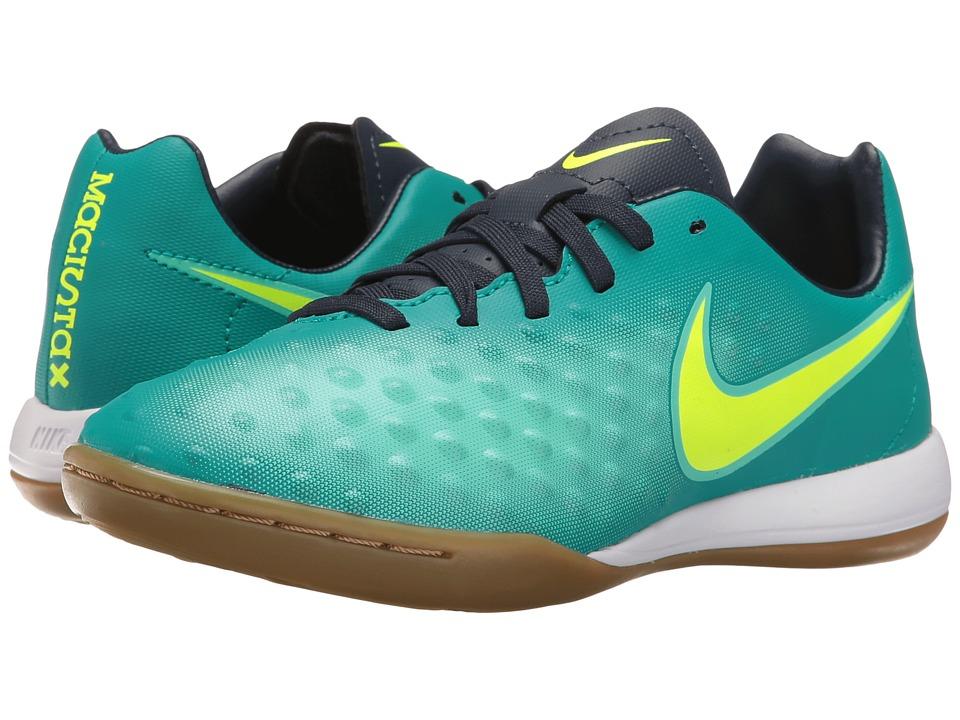 Nike Kids - Jr Magista Opus II IC Soccer (Toddler/Little Kid/Big Kid) (Rio Teal/Obsidian/Clear Jade/Volt) Kids Shoes