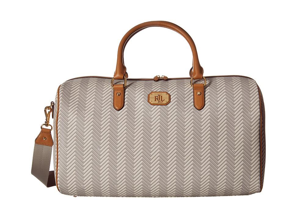 LAUREN Ralph Lauren - Boswell Large Duffel (Natural/Tan) Duffel Bags