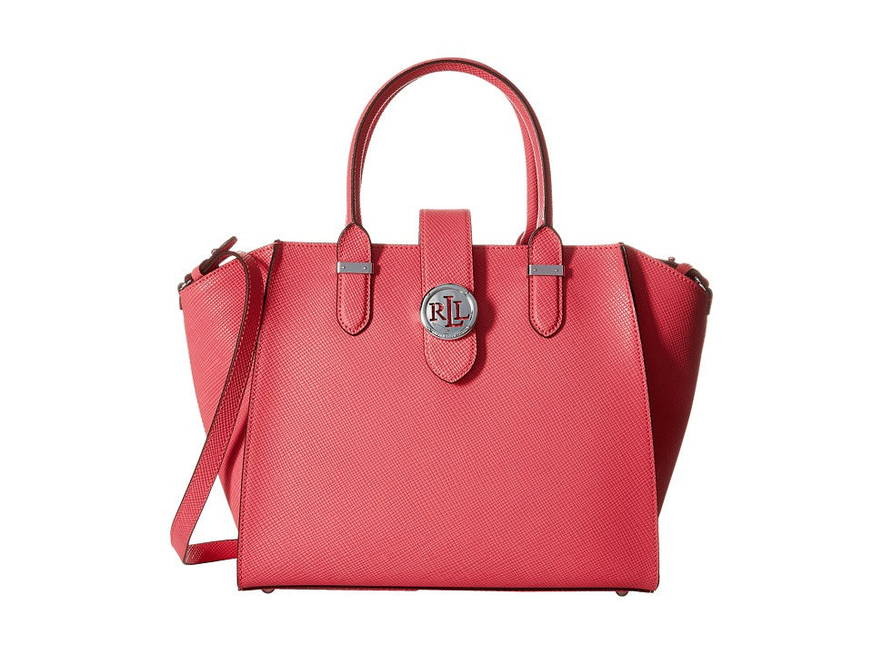 LAUREN Ralph Lauren - Charleston Shopper (Coral) Handbags