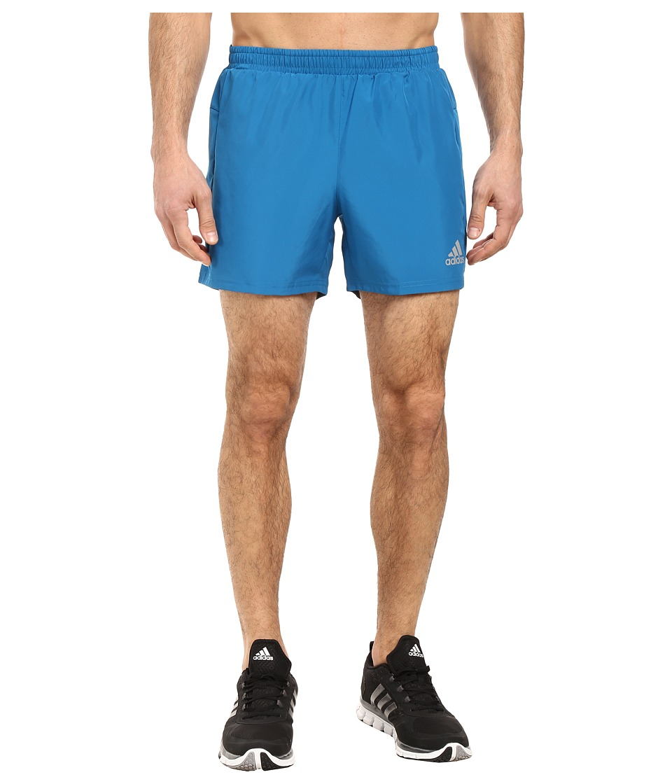 adidas - Run 7 Shorts (Unity Blue) Men's Shorts