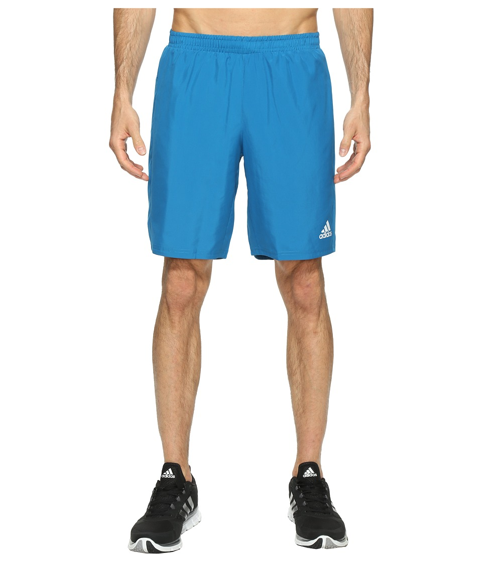 adidas - Run 9 Shorts (Unity Blue) Men's Shorts