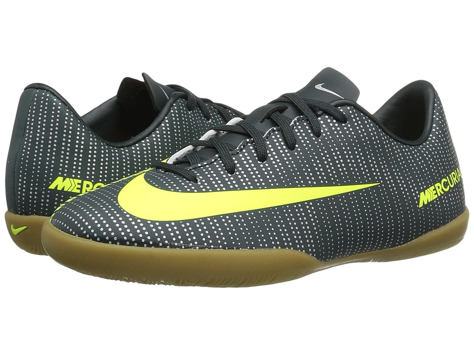 Nike Kids - Jr Mercurialx Vapor XI CR7 IC Soccer (Toddler/Little Kid/Big Kid) (Seaweed/Hasta/White/Volt) Kids Shoes