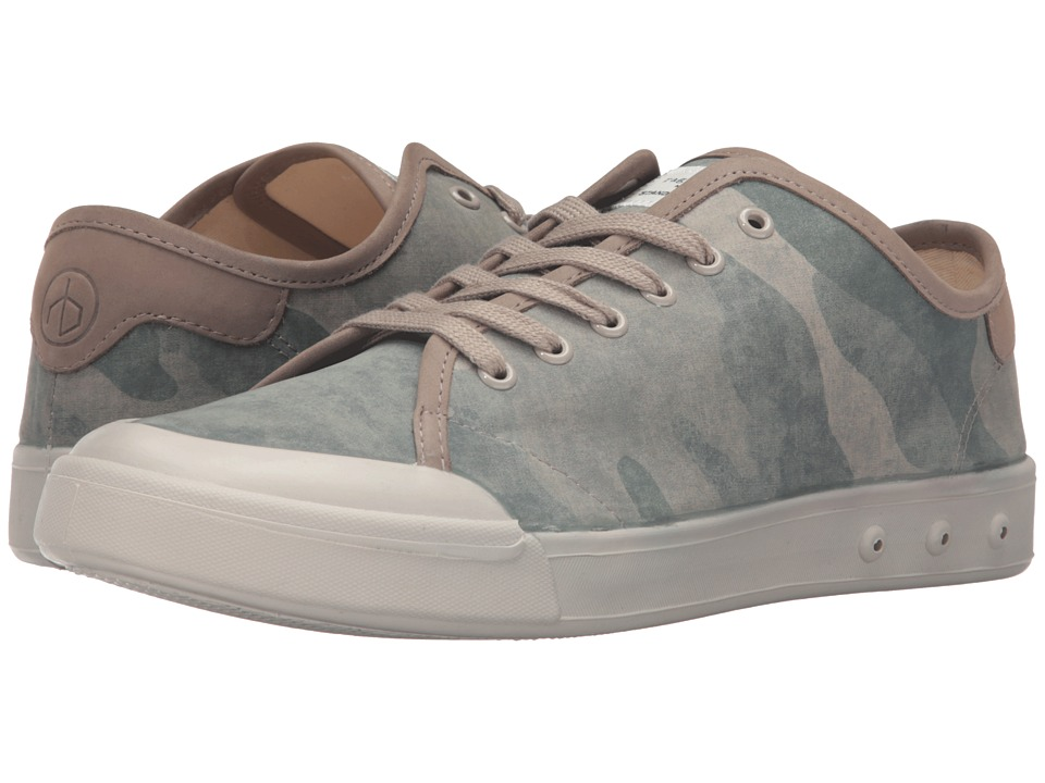 rag & bone - Standard Issue Lace-Up (Green Camo) Men's Shoes