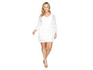 Adrianna Papell - Lace Long Sleeve Dress