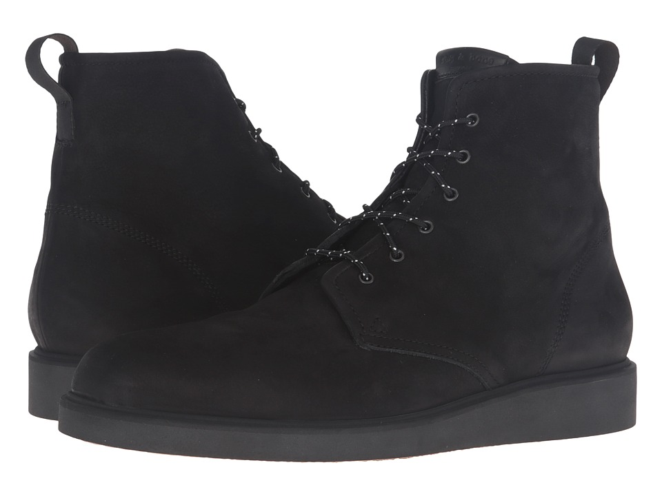 rag & bone - Elliot Lace Boot (Black) Men's Lace-up Boots