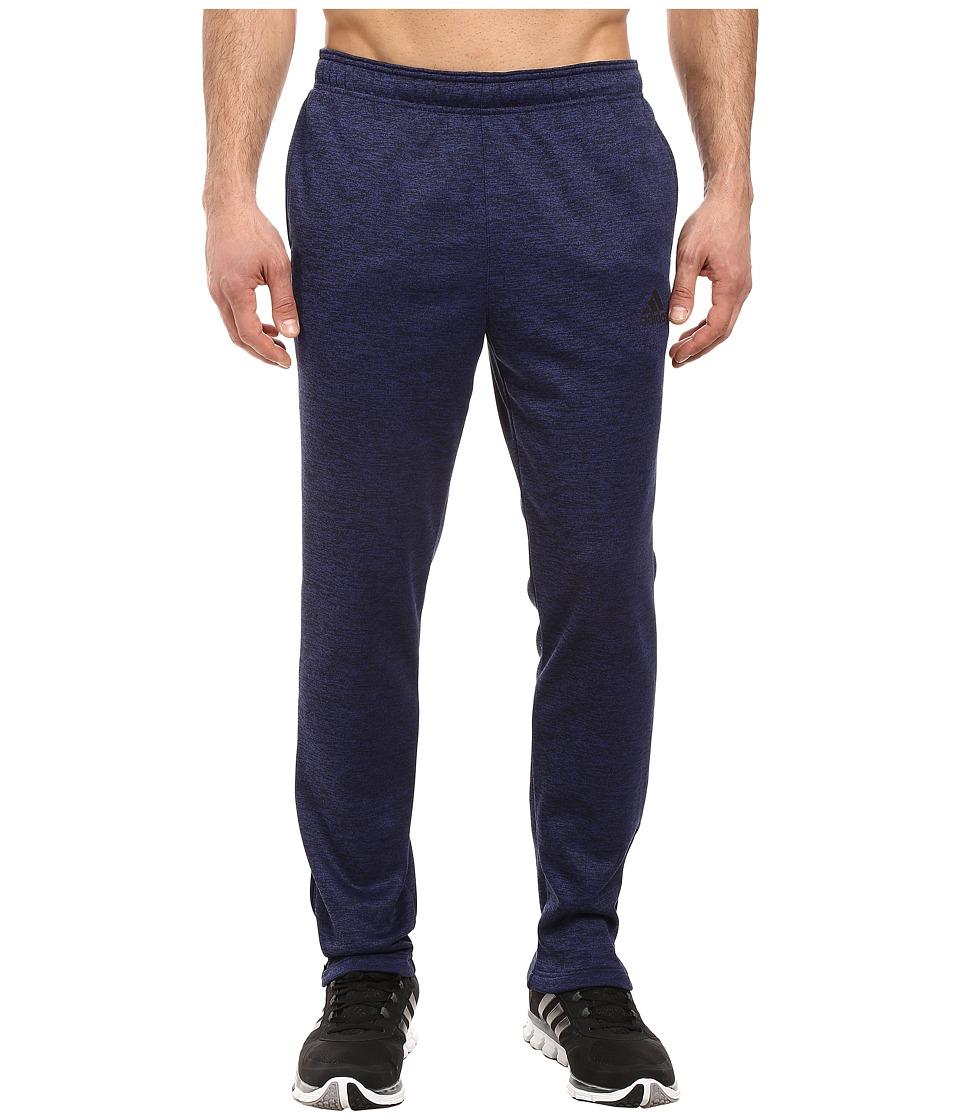 adidas - Team Issue Fleece Pants (Unity Ink Heather/Black) Men's Fleece