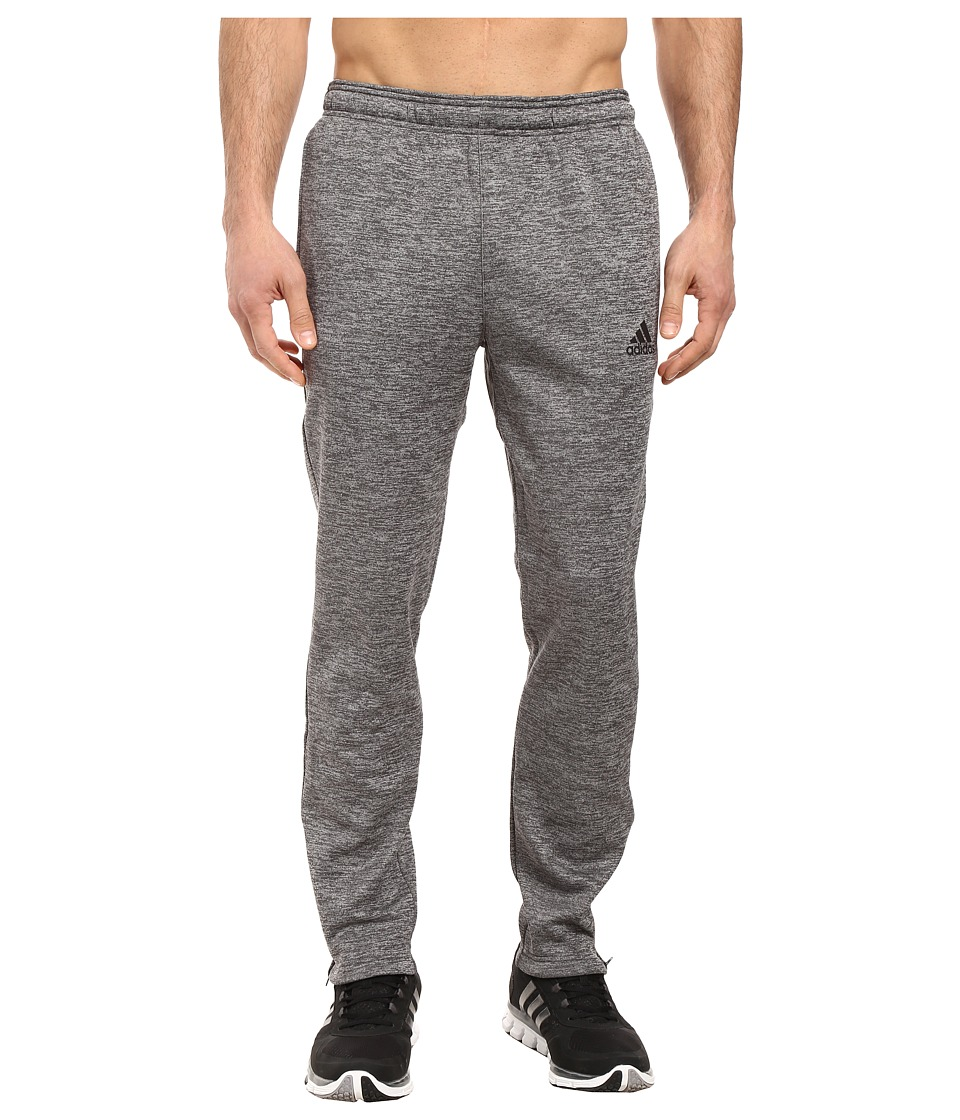 adidas - Team Issue Fleece Pants (Dark Grey Heather Solid Grey Heather/Black) Men's Fleece