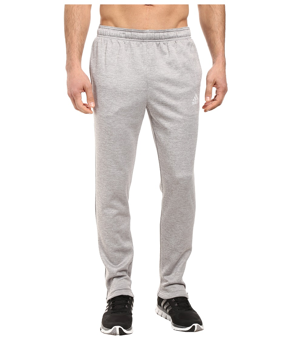 adidas - Team Issue Fleece Pants (Light Grey Heather Solid Grey Heather/Medium Grey Heather Solid) Men's Fleece