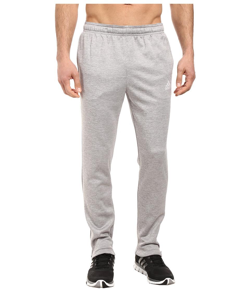 adidas - Team Issue Fleece Pants (Light Grey Heather Solid Grey Heather/Medium Grey Heather Solid) Men's Fleece