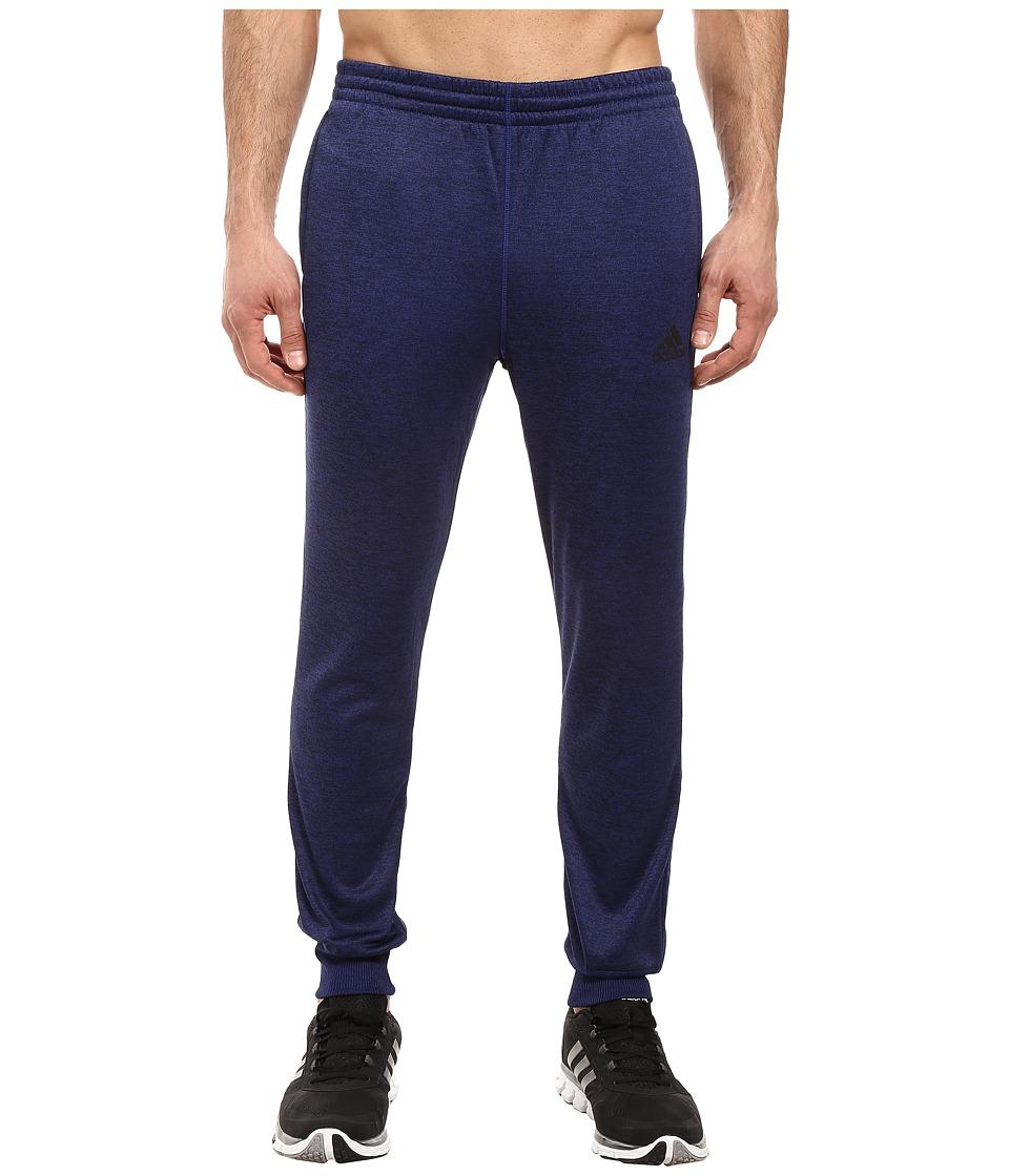 adidas - Team Issue Fleece Joggers (Unity Ink Heather/Black) Men's Casual Pants