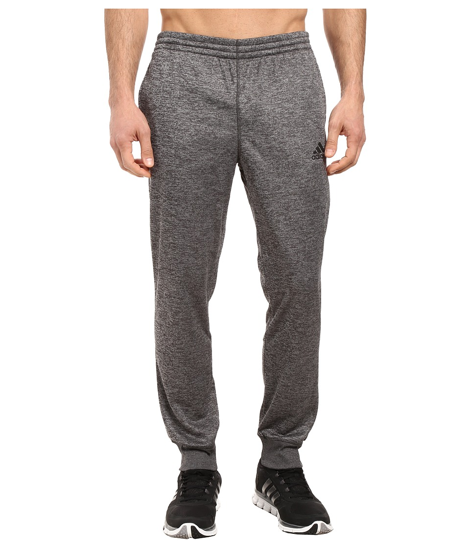 adidas - Team Issue Fleece Joggers (Dark Grey Heather Solid Grey Heather/Black) Men's Fleece