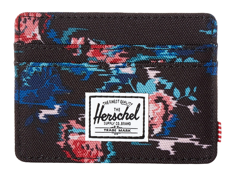 Herschel Supply Co. - Charlie (Floral Blur) Credit card Wallet