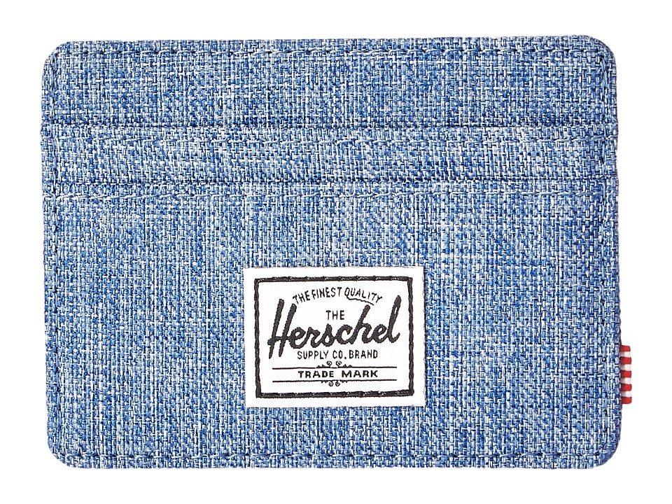 Herschel Supply Co. - Charlie (Limoges Crosshatch) Credit card Wallet