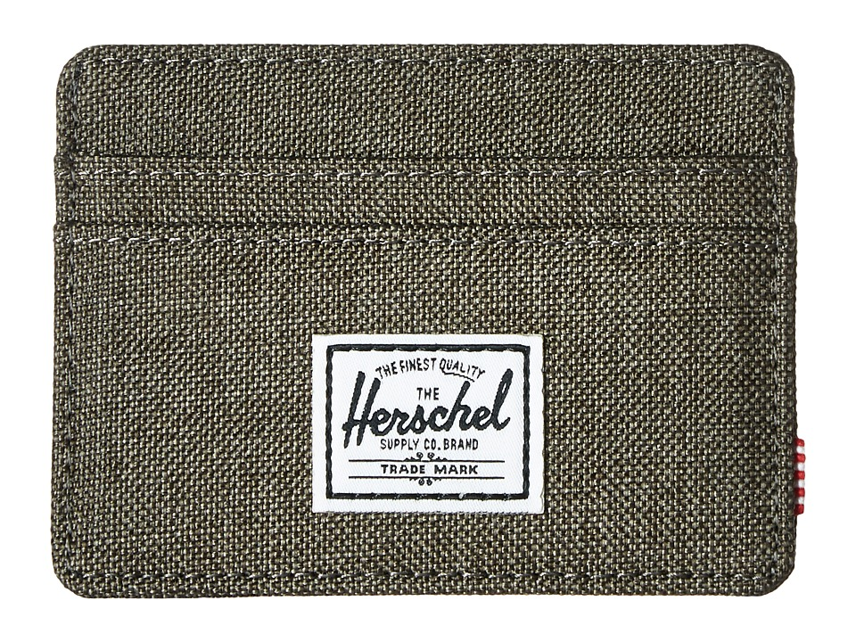 Herschel Supply Co. - Charlie (Canteen Crosshatch) Credit card Wallet