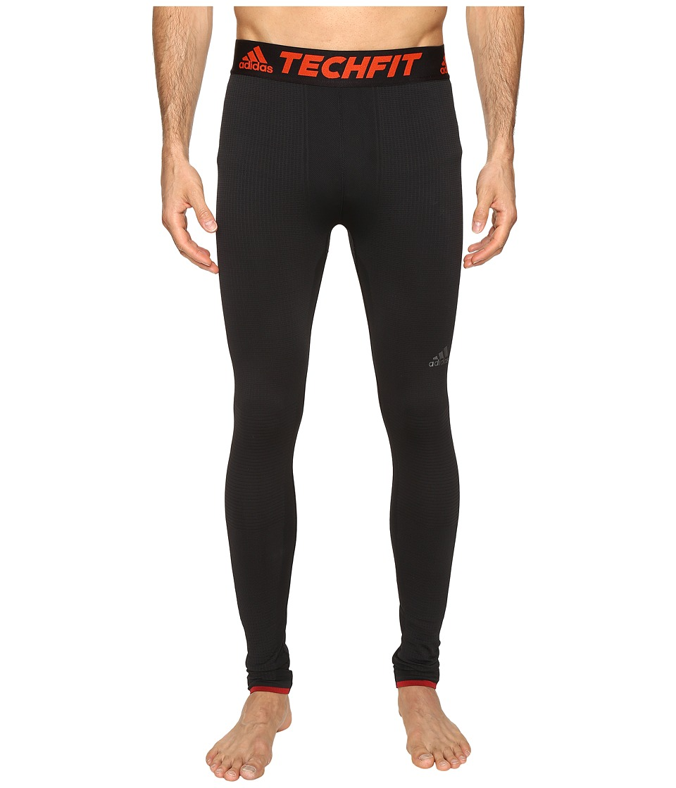 adidas - TECHFIT CLIMAHEAT Tights (Black) Men's Casual Pants