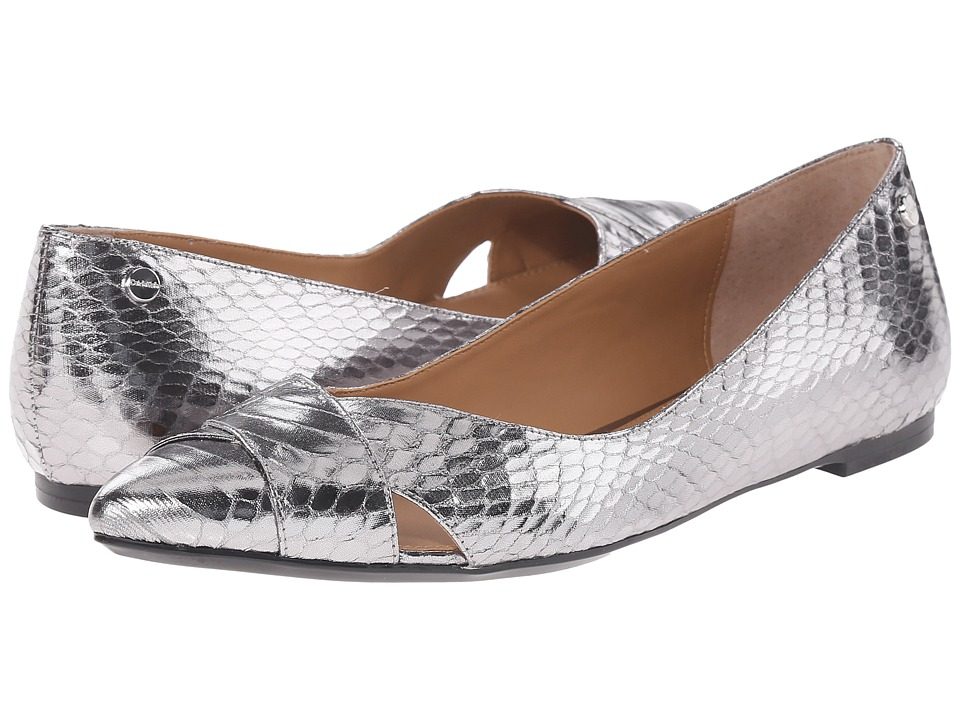 Calvin Klein - Gailia (Steel) Women's Dress Flat Shoes