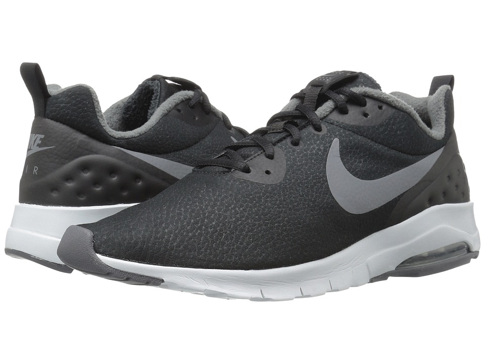 Nike - Air Max Motion Low Premium (Black/Dark Grey/Pure Platinum) Men's Running Shoes