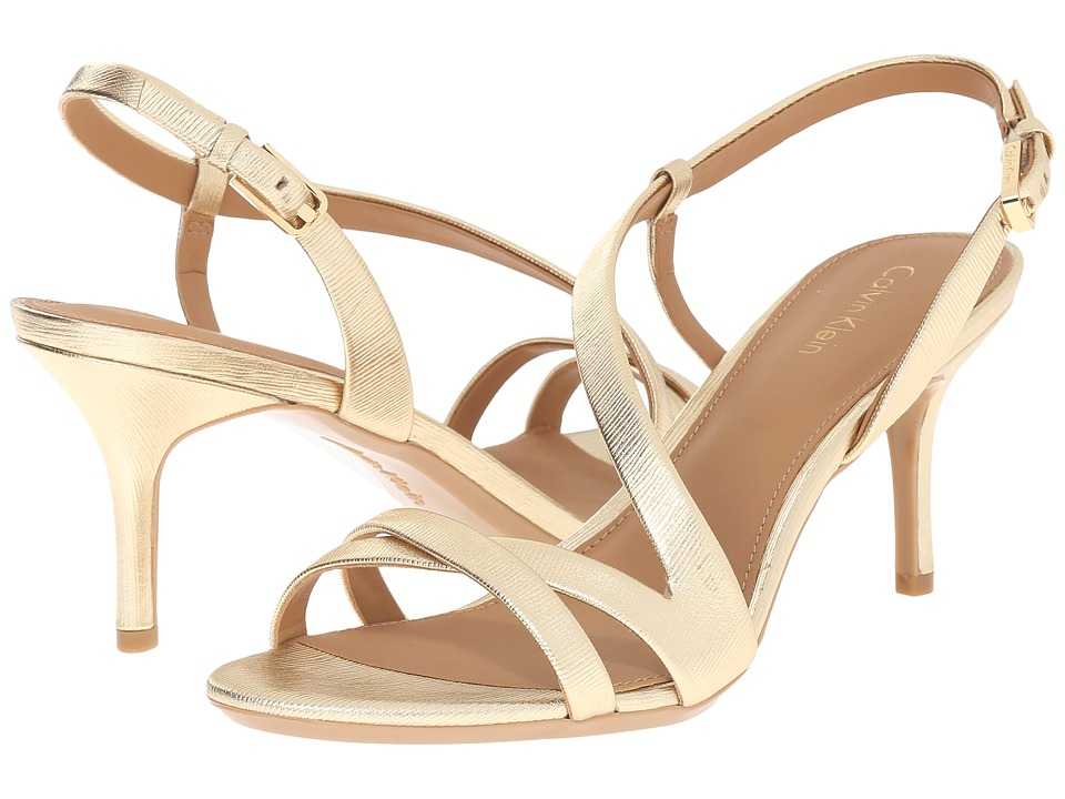 Calvin Klein - Lorren (Warm Gold) Women's Shoes