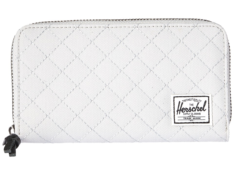 Herschel Supply Co. - Thomas with Zipper (Lunar Rock Quilted) Wallet Handbags