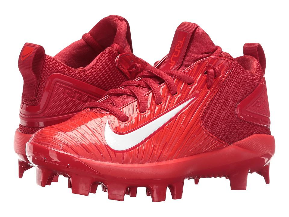 Nike Kids - Trout 3 Pro BG Cleated Baseball (Big Kid) (Varsity Red/Light Crimson/White) Kids Shoes