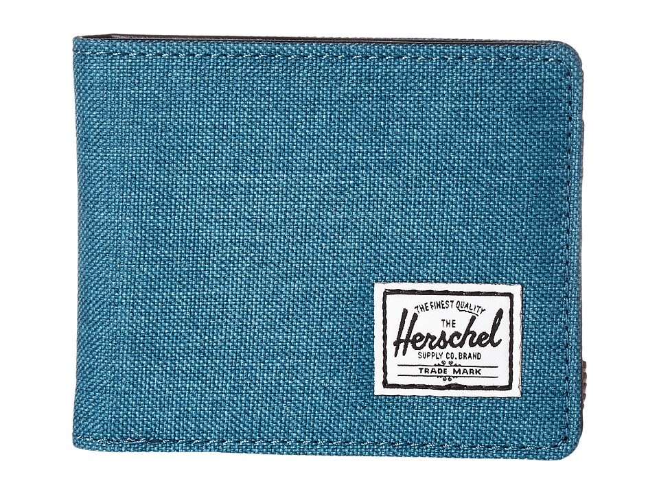 Herschel Supply Co. - Hank (Petrol Crosshatch) Wallet Handbags