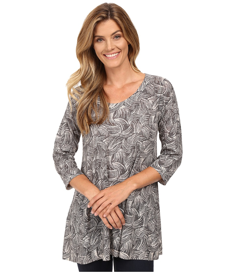 Nally & Millie - Swirl Print Tunic (Multi) Women's Clothing