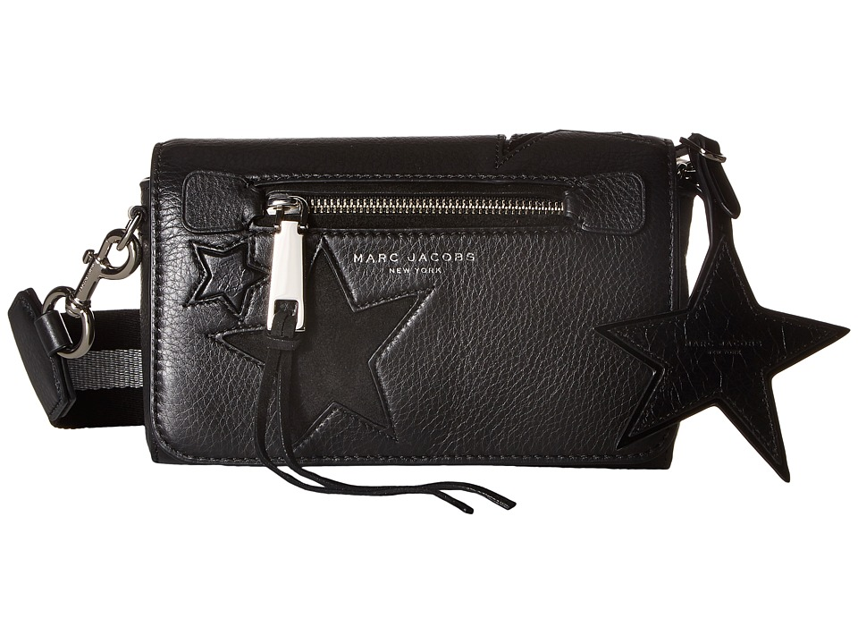 Marc Jacobs - Star Patchwork Crossbody (Black Multi) Cross Body Handbags