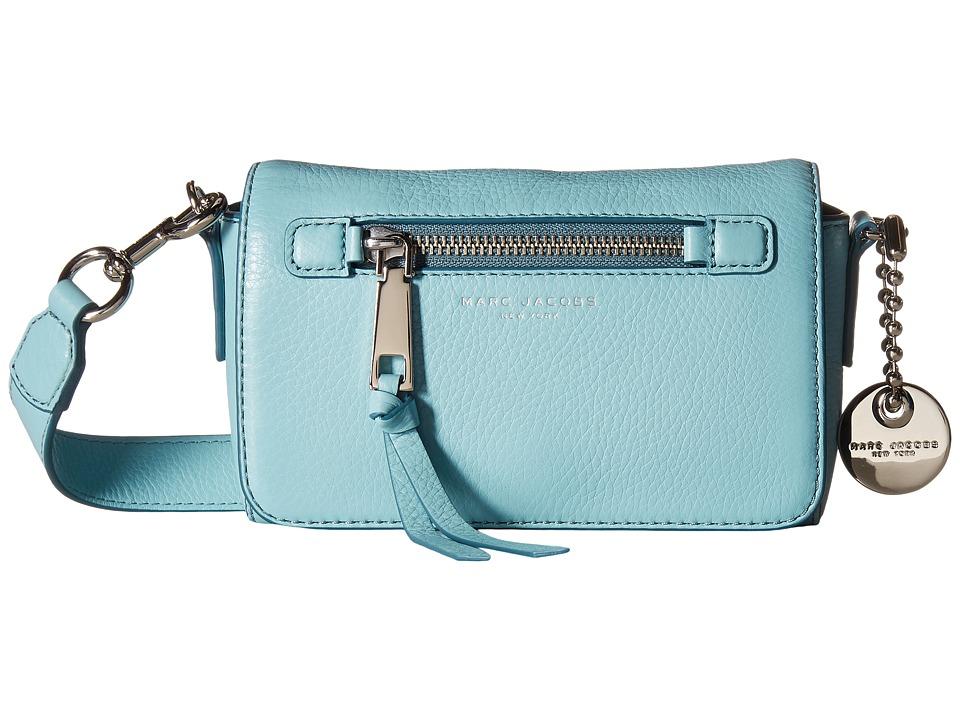 Marc Jacobs - Recruit Crossbody (Azur) Cross Body Handbags
