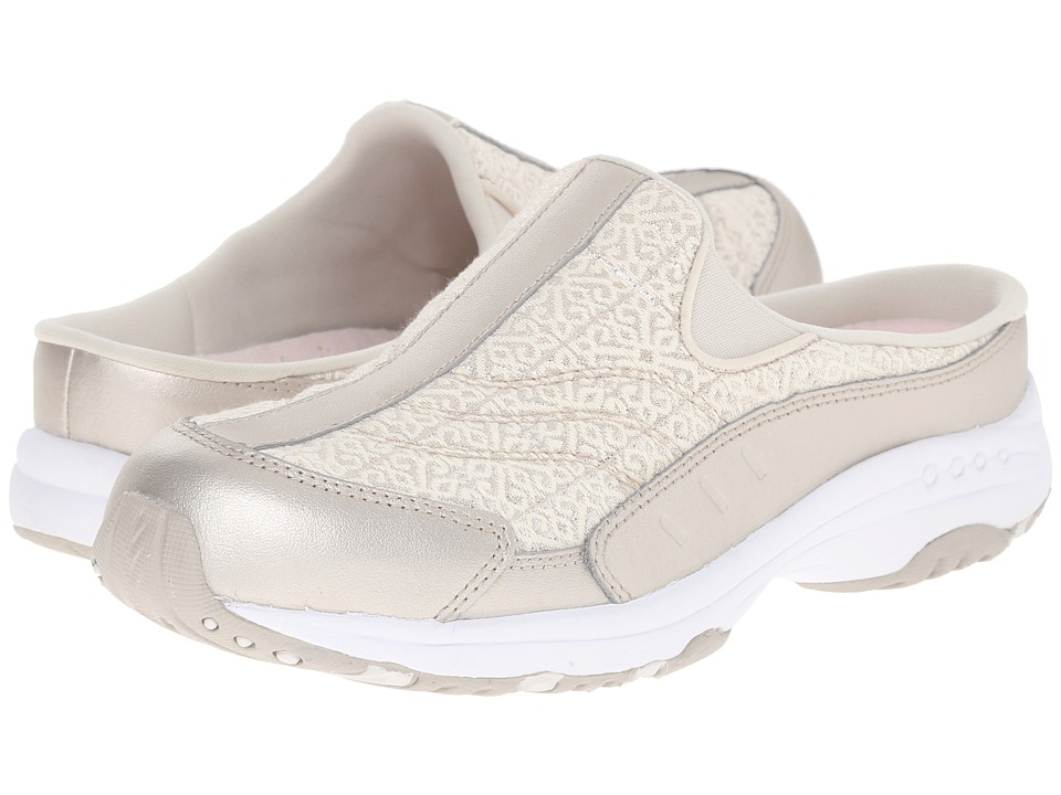 Easy Spirit - Traveltime 218 (Ivory/Ivory Leather) Women's Shoes