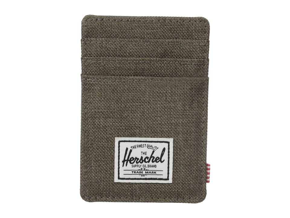 Herschel Supply Co. - Raven (Canteen Crosshatch) Credit card Wallet