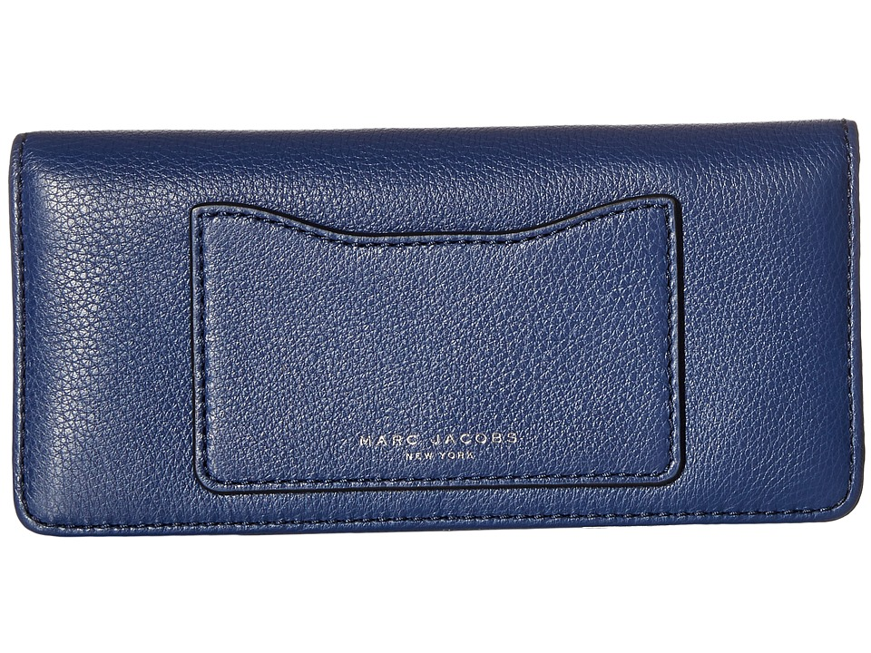 Marc Jacobs - Recruit Open Face Wallet (Dark Blue) Wallet Handbags
