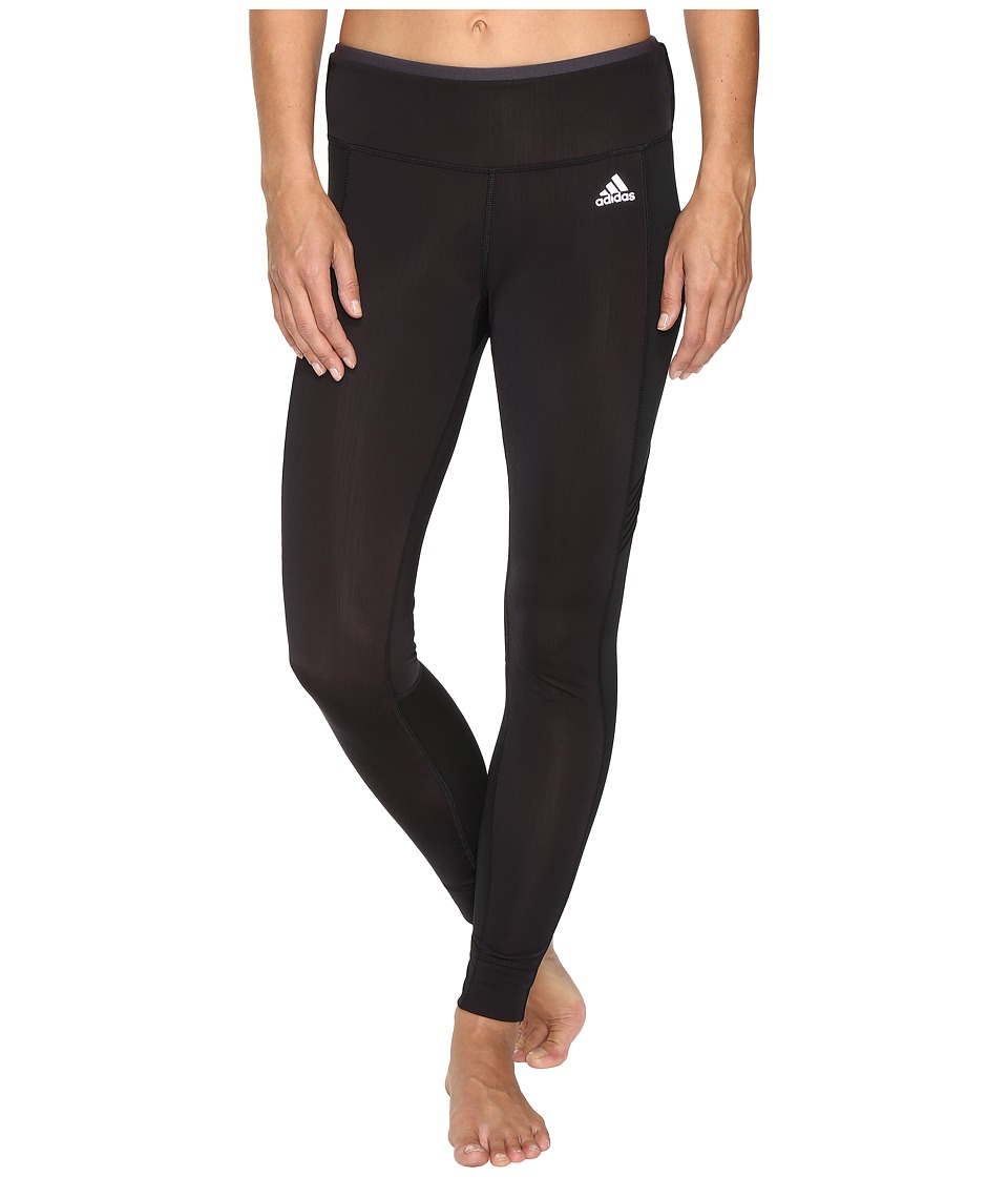 adidas - Sequencials CLIMAHEAT Long Tights (Black/Black) Women's Workout