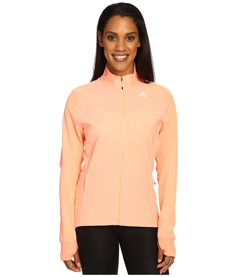 adidas - Supernova Storm Jacket (Sun Glow) Women's Coat