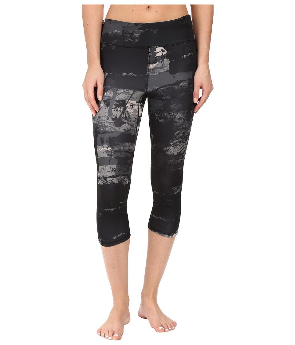 adidas - Supernova 3/4 Tights (Vapour Grey Print/Vapour Grey) Women's Workout