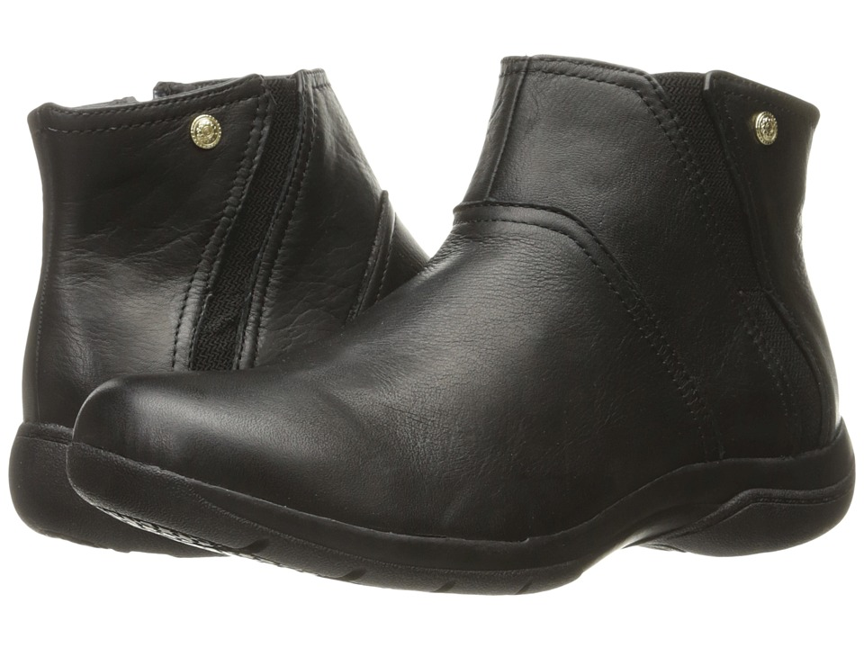 SKECHERS - Natty (Black) Women's Zip Boots