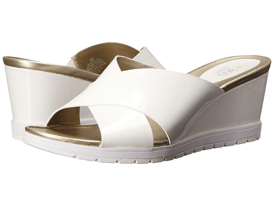 Easy Spirit - Hartlyn (White Patent) Women's Shoes