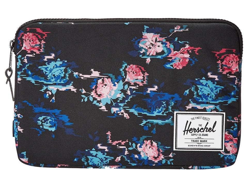 Herschel Supply Co. - Anchor Sleeve 11 (Floral Blur) Computer Bags