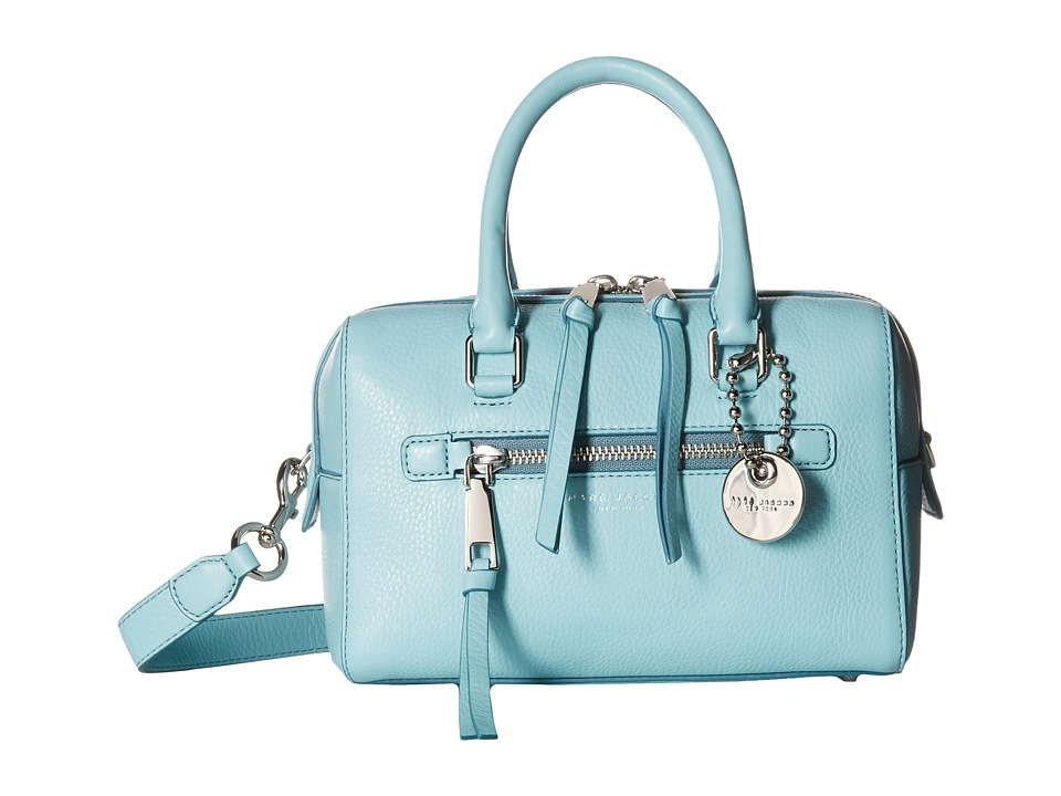 Marc Jacobs - Recruit Small Bauletto (Azur) Satchel Handbags
