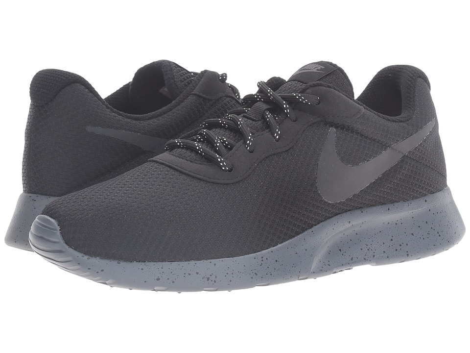 Nike - Tanjun SE (Black/Black/Dark Grey) Men's Running Shoes