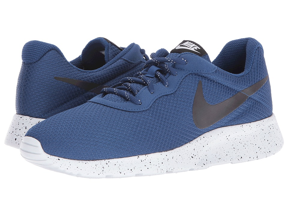 Nike - Tanjun SE (Coastal Blue/Black/Pure Platinum) Men's Running Shoes